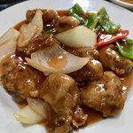 84060269 - ランチの「酢豚定食」(780円)