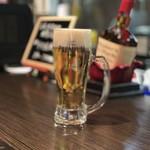焼鳥ダイニングdice - 生ビール