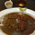 東インドカリー - 料理写真:半々セット