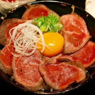 テレビで紹介されました★A5ランク近江牛ローストビーフ丼御膳