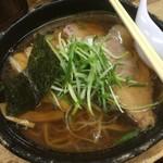 麺哲 - 料理写真:醤油