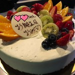 パティスリー イリア - 料理写真:バースデーケーキ