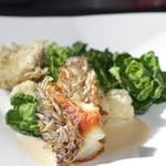 ル ベナトン - コブダイの鱗焼き ノイリークリームソース