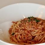 イチカフェ - 料理写真:ミートソース