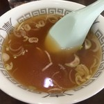 84066520 - チャーハン860円につくスープ
