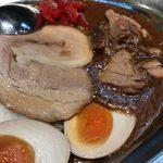野郎ラーメン - 「豚骨豚カレー」980円