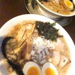 らーめん 潤 - 極め 肉そば1080円2人分【2018年4月】