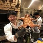アラルデ - 料理写真:スペイン産仔豚の丸焼き
