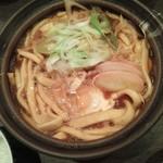 酒と味噌煮込み 味噌煮込罠 - 味噌煮込うどん850円