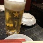 おじゃり - サッポロ生ビール(中)
