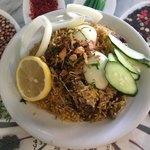 インドレストラン アラジン - マトンビリヤニ