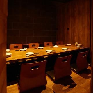 ◆4名様~20名様迄の完全個室ご用意◆
