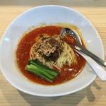 縁場大虎担々麺 - 濃厚汁無し坦々麺(細麺)¥850