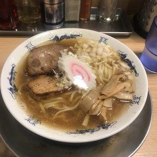 煮干そば 流。 - 料理写真:煮干しそば 並 ¥750