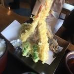 おけしょう鮮魚の海中苑 - 天ぷら