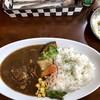 K's cafe - 料理写真:牛すじカレーセット1080円