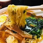 光来 - 自慢の美しき黄金麺!