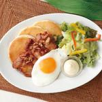 Hawaiian Pancake Factory - TERIYAKIチキン&エッグ