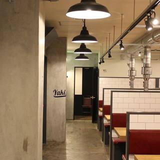 【半個室・VIPルーム・座敷】焼肉店とは思えないオシャレ空間
