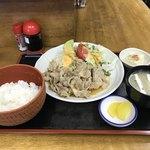 食事処 櫻 - 生姜焼き定食 850円