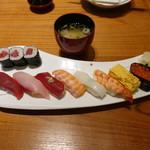 築地玉寿司 ささしぐれ - 本日のにぎり
