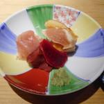 ヨシモリ - タタキ、刺身