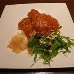 過門香 - 白身魚チリソース
