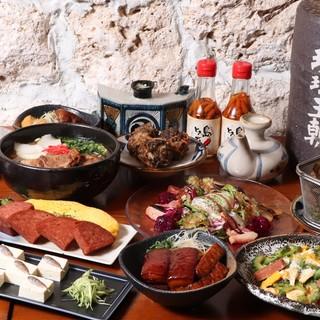 ◆沖縄の定番を集めた充実のコース