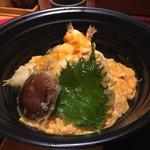 麺匠の心つくし つるとんたん - 天とじ丼(¥1280)