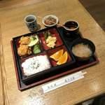 寿ぎ乃家 - 料理写真:唐揚げランチ