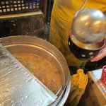 ステーキふじ - なめこ汁