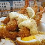 ステーキふじ - フライのアップ