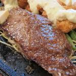 ステーキふじ - 国産牛のステーキ