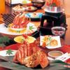 札幌かに家 - 料理写真:活毛かに片身茹で会席「蟹旬」4860円
