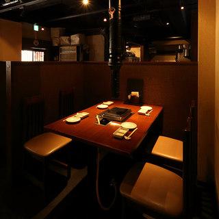 【テーブル席】~4名様