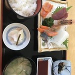 ニュー温泉閣ホテル - 刺身定食