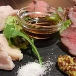 肉バル ミート キッチン 298 - 色々お肉の5種盛り