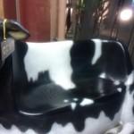 肉バル ミート キッチン 298 - 店の前に有る牛さん