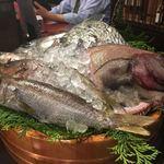 竹亭にしき - 本日の鮮魚