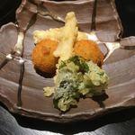京ごはんと鉄板焼き 京月 - ◆季節の揚げ物