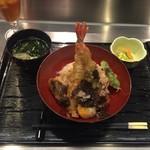84095041 - 黒トリュフと卵黄天の天丼 ¥1,000-