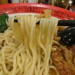 万世麺店 - 中太ストレート麺