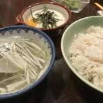 牛たん一福 - 麦飯セット