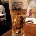 生粋 - やはり生ビールでしょ