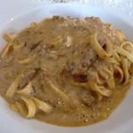 トラットリア ギヘイ - ポルチーニ茸のクリームパスタ