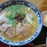 84100633 - 蘭州牛肉麺(ほうとう麺)+茶玉子