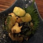 かんから・カン - ニシ貝酢味噌