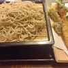 萬寿庵 - 料理写真:季節野菜のバラ天せいろです。