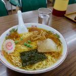 食堂 多万里 - 半チャーハン・ラーメン 850円