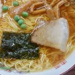 食堂 多万里 - 料理写真:半チャーハン・ラーメン 850円